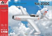 Реактивный самолет самолет разработки  ОКБ Яковлева 23ДС