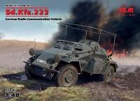 Sd.Kfz.223, Германский бронеавтомобиль радиосвязи WWII