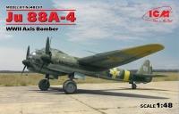 Ju 88A-4, Бомбардировщик стран Оси WWII