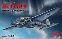 He 111H-6, Германский бомбардировщик WWII
