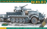 3,7cm Flak 36 auf Fahrgestell mZgKw 5t Sd.Kfz. 6/2