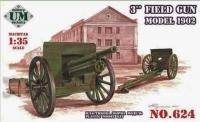 Трехдюймовая полевая пушка 1902 г. со щитом