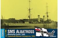 """Германский минный заградитель SMS """"Albatross"""", 1908 г."""