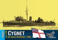 Английский миноносец «Cygnet» (D-class), 1900 г.