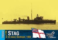 Английский миноносец «Stag» (D-class), 1900 г.