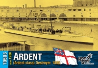 Английский миноносец «Ardent» (Ardent-class), 1895 г.