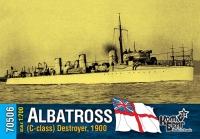 Английский миноносец «Albatross» (C-class), 1900 г.