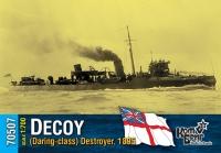 Английский миноносец «Decoy» (Daring-class), 1895 г.