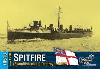 Английский миноносец «Spitfire» (Swordfish-class), 1895 г.