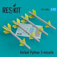 Rafael Python 3 missile (4 шт.) (IAI Kfir, F-15C/I, F-16I, JF-17, MiG-21, Mirage F.1)