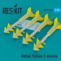 Rafael Python 5 missile (4 шт.) (F-16I, F-16D, F-15I, Mirage F.1)