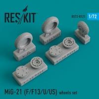 MiG-21 (F/F13/U/US) смоляные колеса