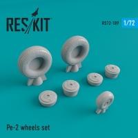 ПЕ-2 смоляные колеса