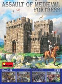 Штурм средневековой крепости