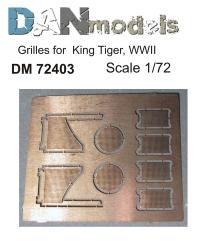 Надмоторные решетки Королевский Тигр (для Звезда 5023)