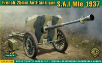 Французская противотанковая пушка 25 мм Hotchkiss 1937 г.