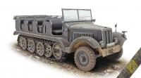 Полугусеничный тягач 5 т. Sd.Kfz.6 Zugkraftwagen Pionier