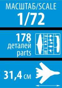Российский учебно-боевой самолет Су-27УБ