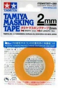 Маскирующая лента шир. 2 мм