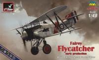 """Британский истребитель Fairey """"Flycatcher"""" ранний"""