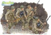 """Набор фигур """"Американские рэйнджеры в Нормандии""""   - U.S. RANGERS (NORMANDY 1944)"""