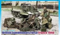 Британский экспедиционный корпус 1940 г., Франция
