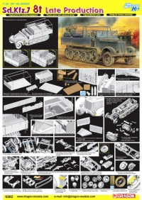 Немецкий тягач Sd.Kfz.7 8t Late Production