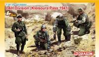 Солдаты дивизии СС (LAH Division Kleisoura Pass) 1941 г.