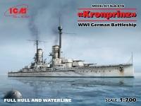 """""""Кронпринц"""", Германский линейный корабль WWI"""