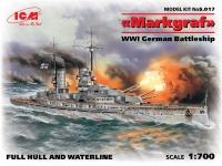 """""""Маркграф"""", Германский линейный корабль WWI"""