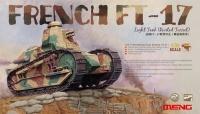 Французский легкий танк FT-17 с клепаной башней