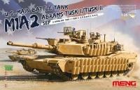 Американский танк M1A2 SEP ABRAMS TUSK I/TUSK II