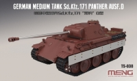 Немецкий танк Sd.Kfz.171 Panther ausf. D