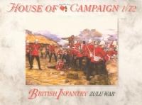 Британская пехота. Зулусские войны