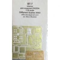 ФТД  БТ-7 интерьер