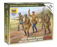 Советская кадровая пехота 1941-1942 гг.