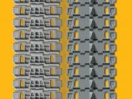 Набор раздельных траков для танков ИС поздних серий