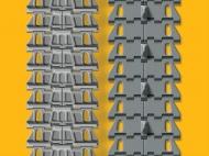 Набор раздельных траков для танка КВ-1С