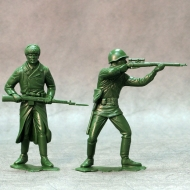 Красная армия, наб. из 2-х фигур 1