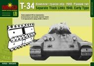 Наборные гусеничные цепи танка Т-34 (ранние)