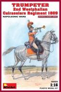 Трубач 2-го Вестфальского кирасирского полка, 1809 г.