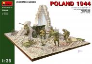 Польша 1944 г. Советская артиллерия