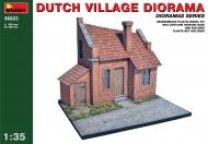 Голландская деревенская диорама