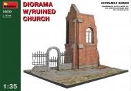 Диорама с разрушенной церковью
