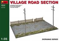 Фрагмент деревенской дороги