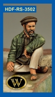 Отдыхающий афганец