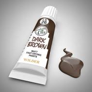 Тёмный коричневый