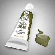 Оливковый тусклый