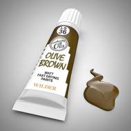 Оливковый коричневый