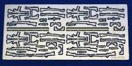 ФТД немецкое стрелковое оружие WWII (Kar.98, P-08, P-38, MP-38, MP-44)